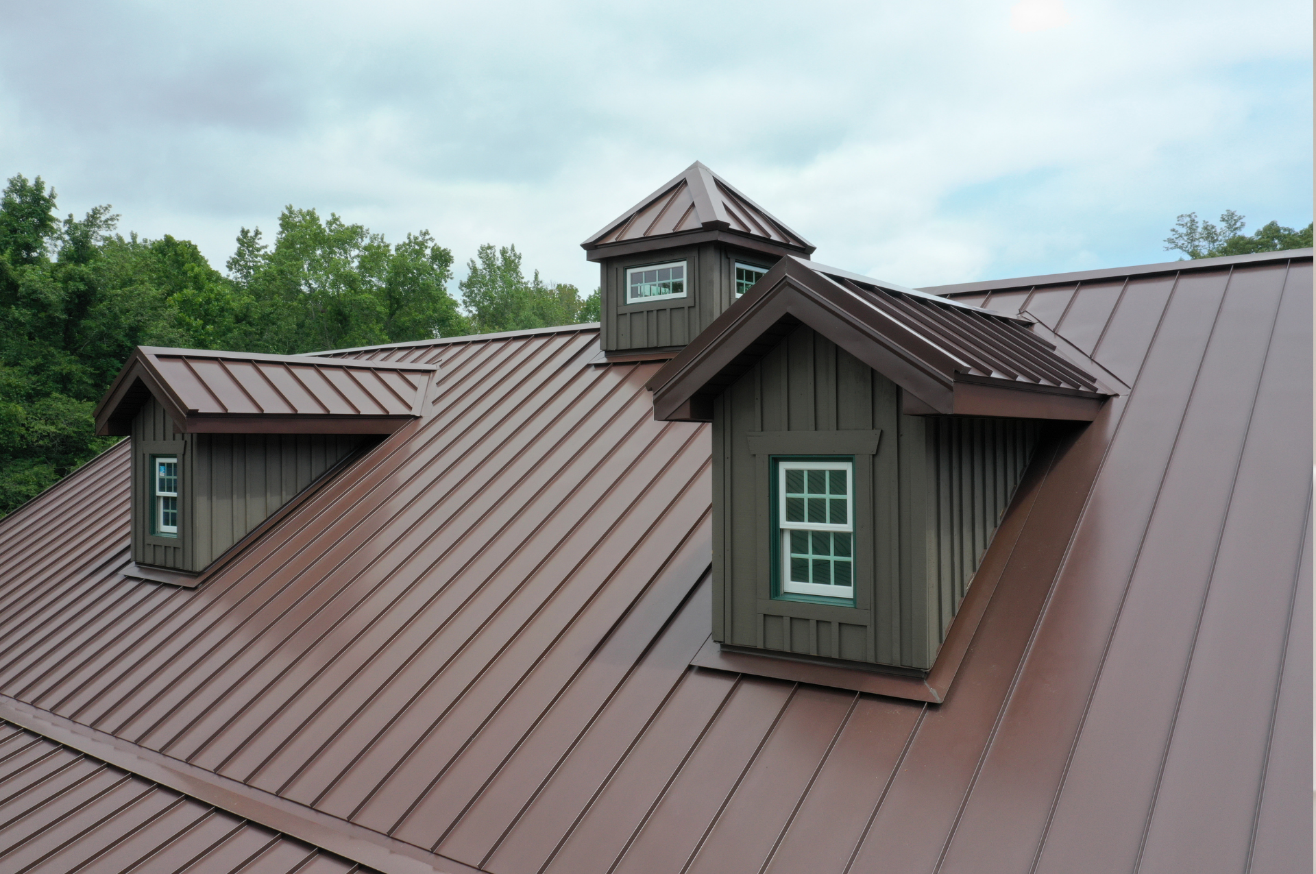 brown roof from best metal roofing manufacturer